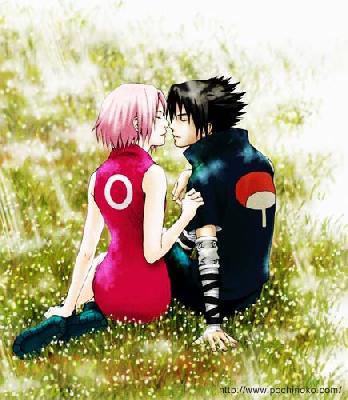 Sasuke & Sakura Manga Picture